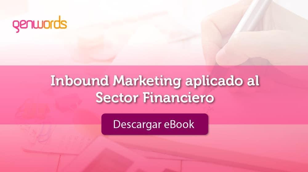 eBook Inbound Marketing aplicado al Sector Financiero