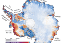 Coastal Ice Loss is Outpacing Mainland Ice Gains on Both Antarctica and Greenland