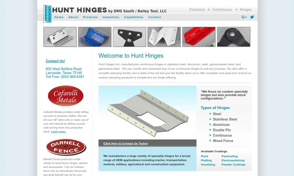 Hinge Manufacturers | Hinge Suppliers