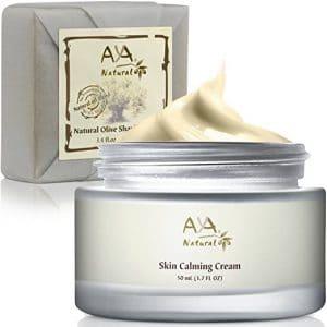 Natural Shaving Soap & Calming Cream Set