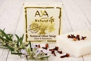 Clove and Rosemary Soap Bar