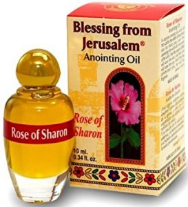 Rose of Sharon Anointing Oil Blessing of Jerusalem