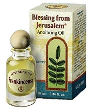 Incienso - Bendición de Jerusalém Aceite de unción