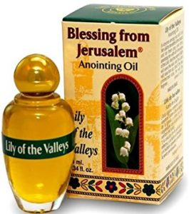 Lily of the valleys - Blessing from Jerusalem Anointing oil