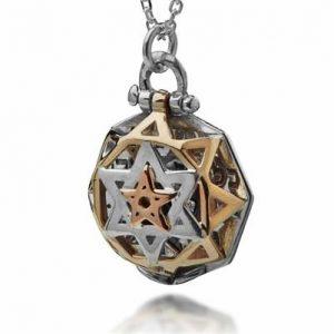 Colgante Kabbalah 5 Metales -