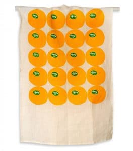 Jaffa Orange Dish Towel