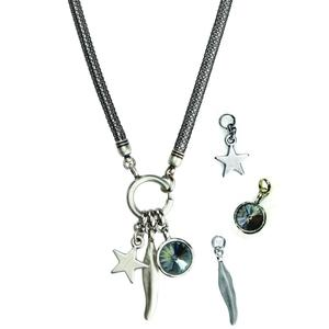 Interchangeable pendants Necklace