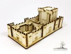 Jerusalem Second Temple Laser Cut Do-it-Yourself Kit