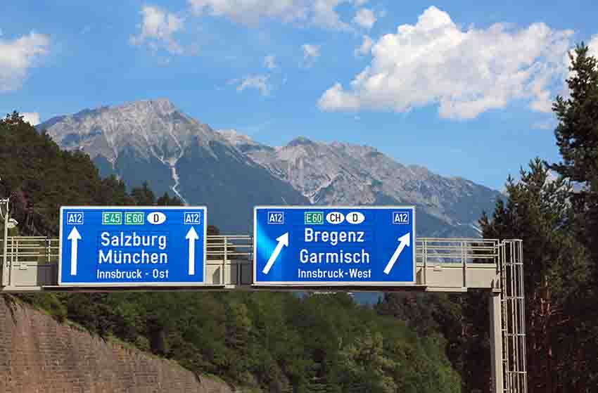 Foreign road signs should not be baffling 89% of British drivers abroad