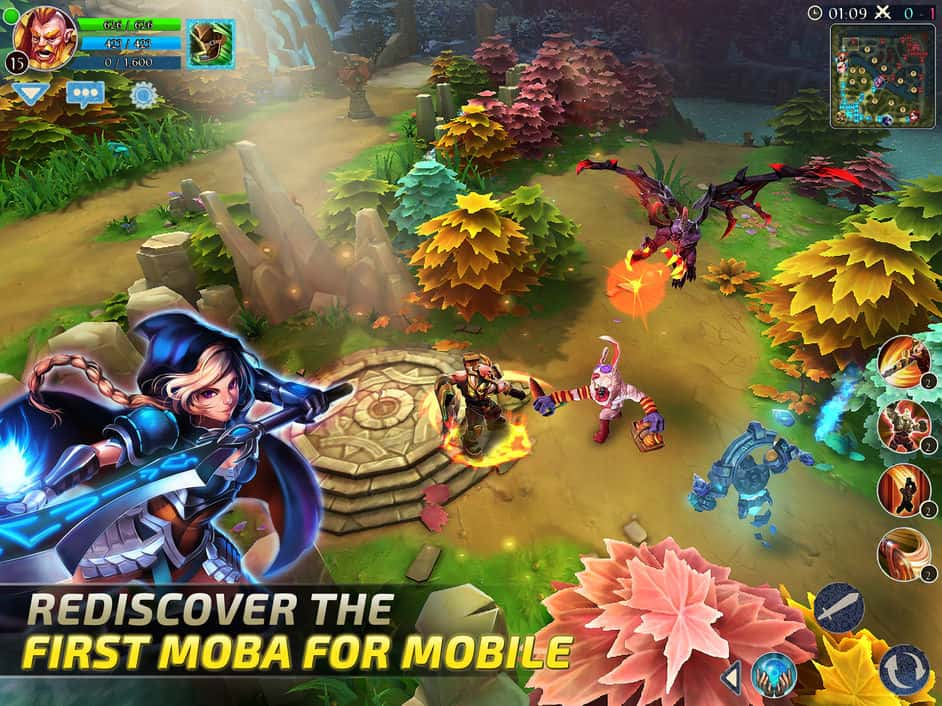 5 Best MOBA Games for iOS in 2019