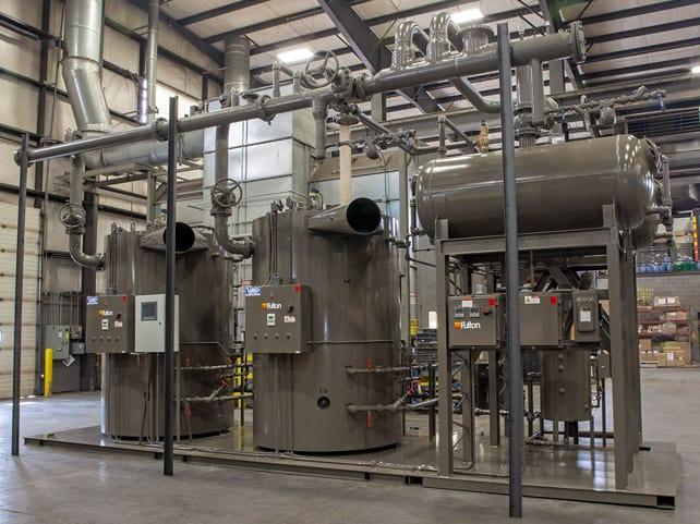Fulton Vertical Multi-Port Steam Boiler