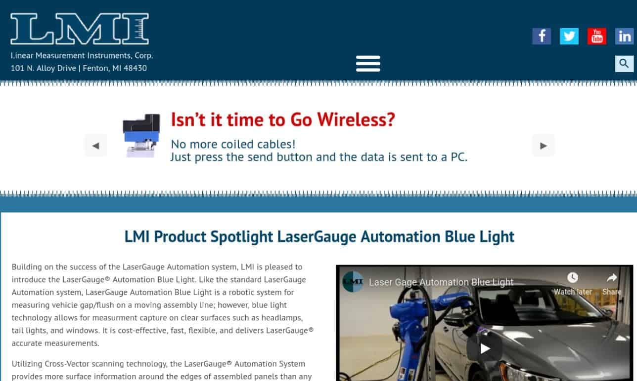 LNA Laser Technology
