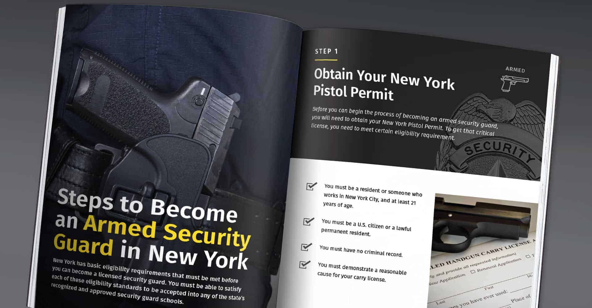 How To Become a Security Guard in NYS Guide – NYC