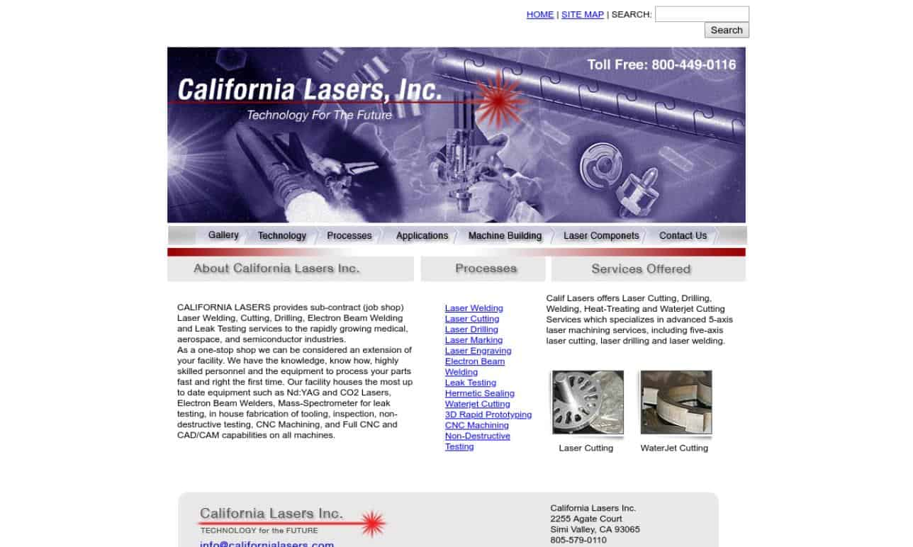 California Lasers Inc.