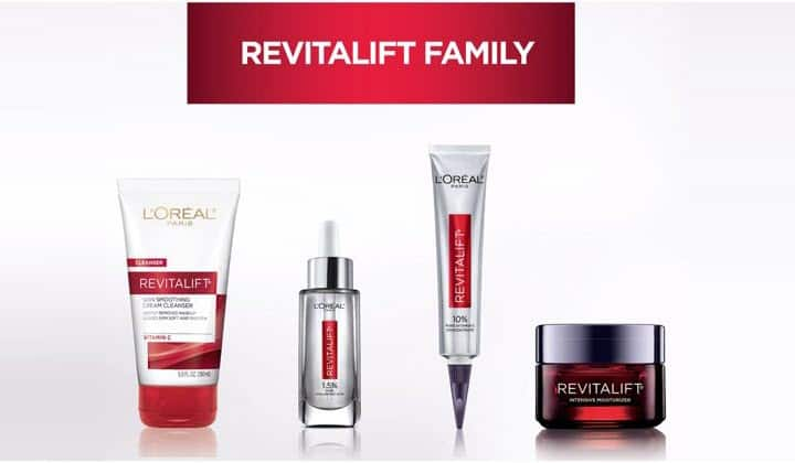 L'Oreal Paris RevitaLift Skin Care Line