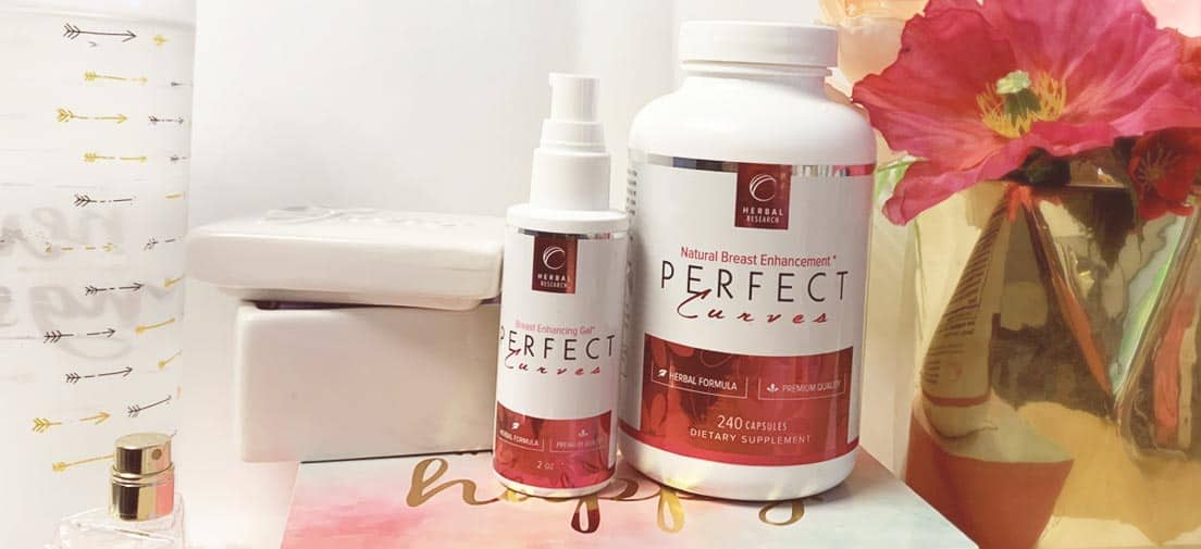 Perfect Curves breast enhancement pills and gel