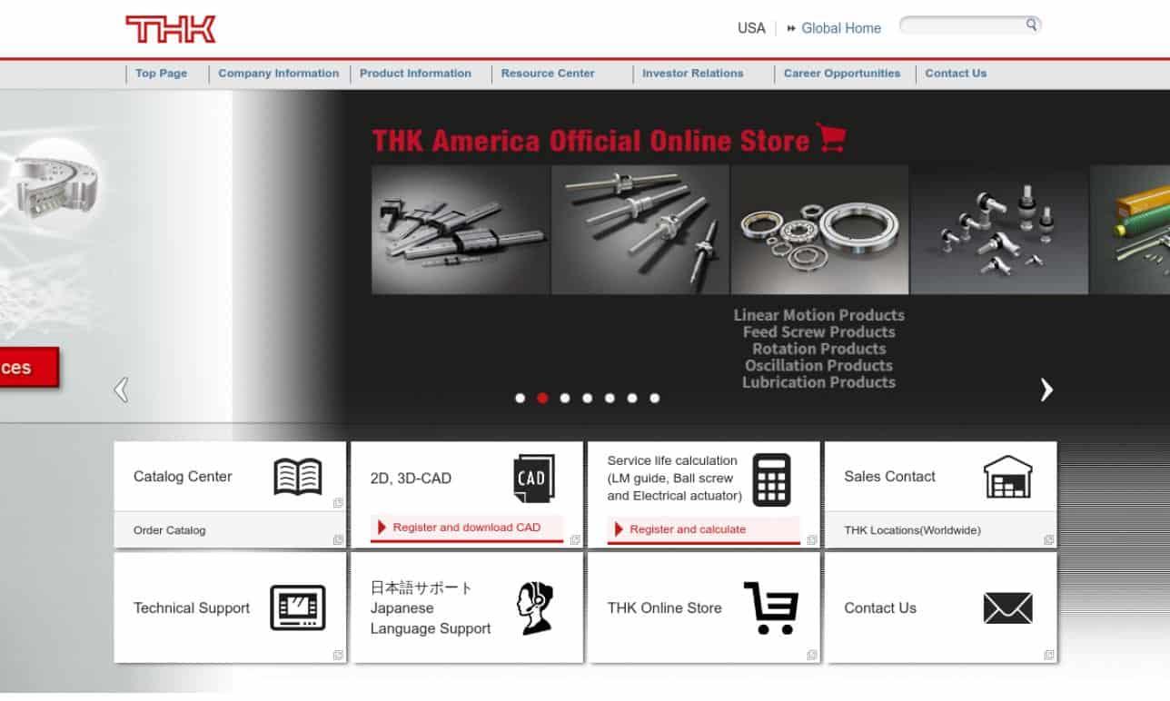 THK America, Inc.