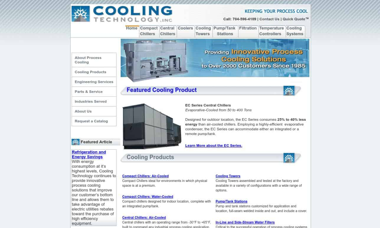 More Liquid Chiller Manufacturer Listings