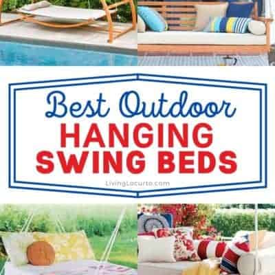 15 Beautiful Hanging Swing Beds