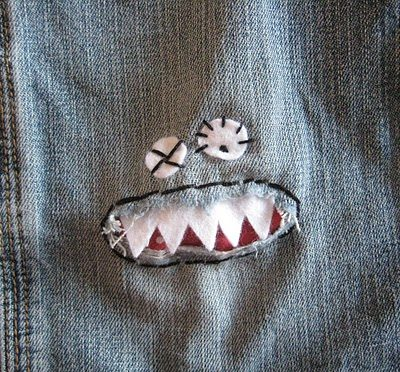 How to Sew Monster Knees | Easy Sewing Tutorial