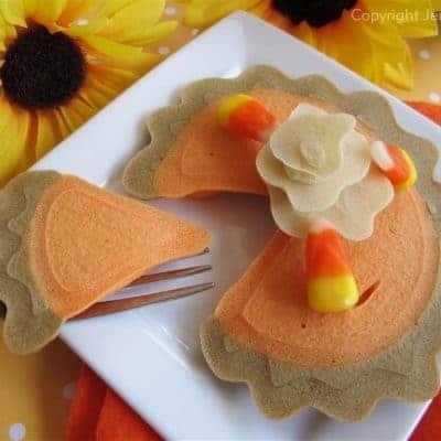 Pumpkin Pie Pancakes – Free Printable Tutorial