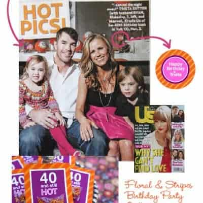 40th Birthday Party Designs for Trista Sutter