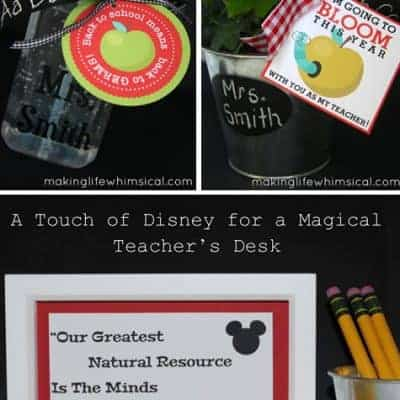 Free Printable Teacher Gift Ideas {Living Creative Thursday}