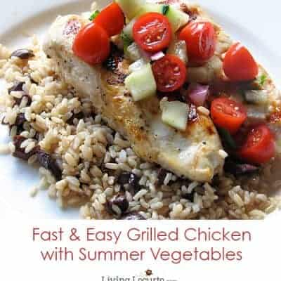 Easy Greek Grilled Chicken
