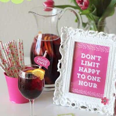 Happy Hour Party Ideas | Free Printables
