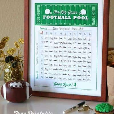 Football Squares Poster