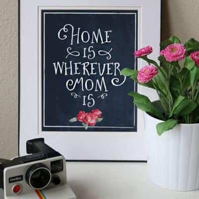 Mother's Day Printable Wall Art