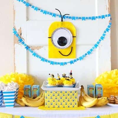 Minions Party Ideas | Homemade Crafts