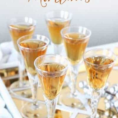 Butterscotch Martini Recipe