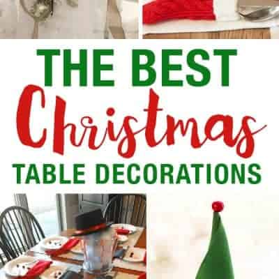 17 Best Christmas Table Decorations