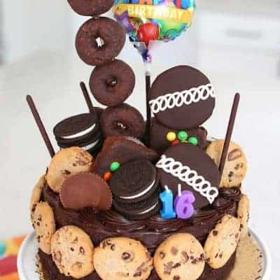 Ultimate Chocolate Birthday Cake