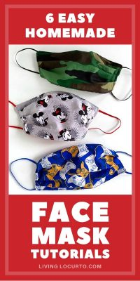 Homemade Face Mask Tutorials