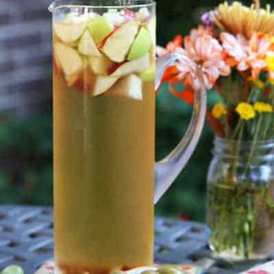 Apple Cider Fall Sangria