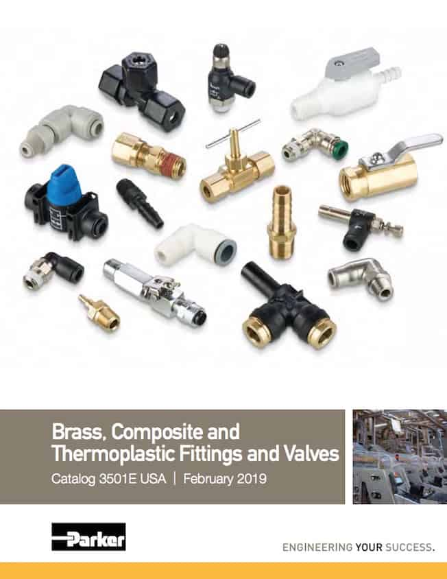 Parker Brass Composite Thermoplastic Fittings Valves Catalog