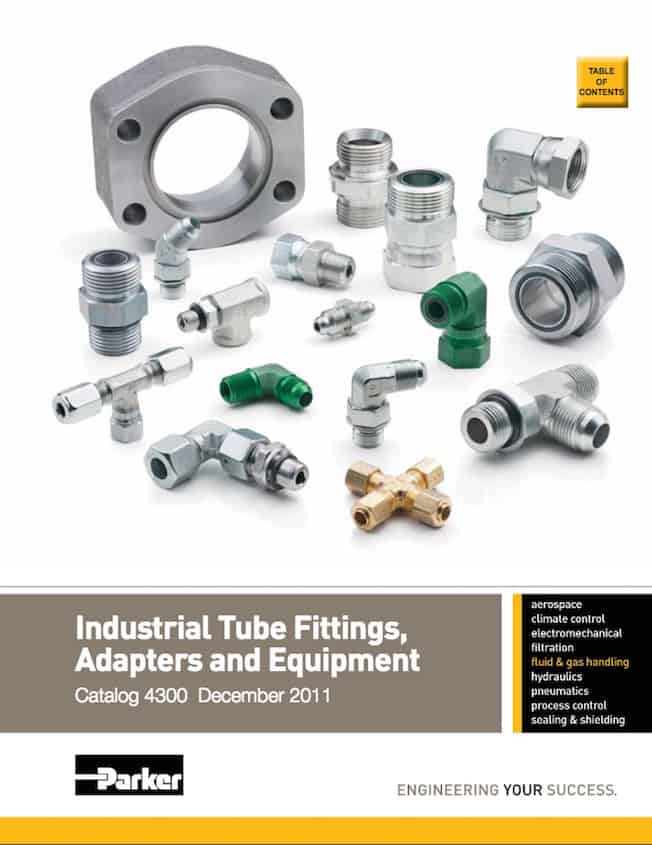 Parker Industrial Fittings Adapters Equip Catalog