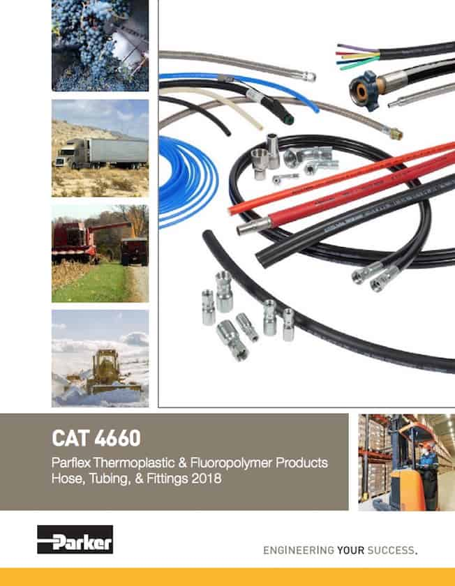 Parker Parflex Thermoplastic Fluoropolymer Products Catalog