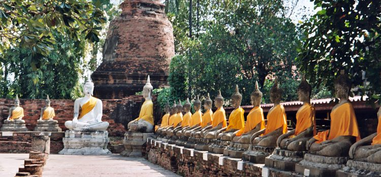The Khmer-style temples of Ayutthaya