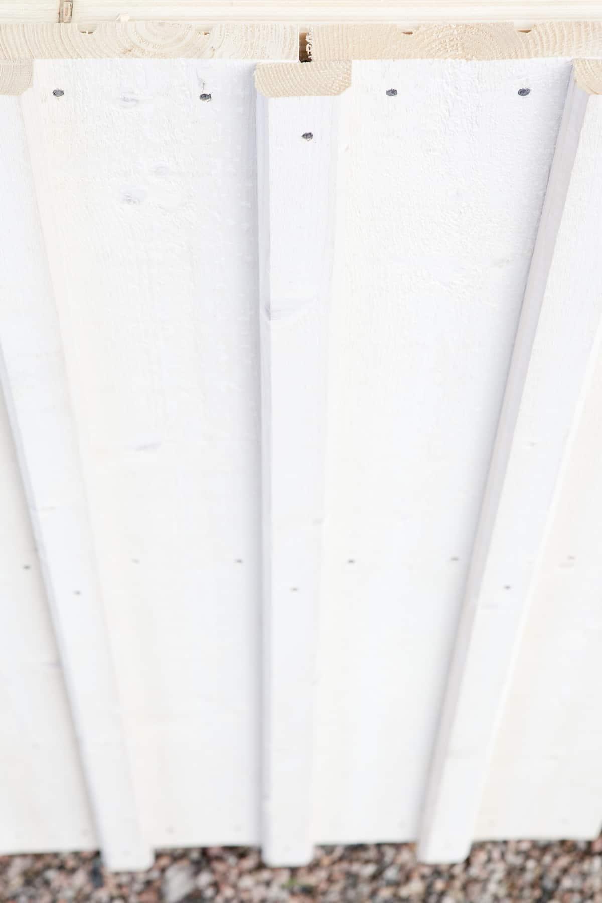 Lockläkt fasad kant