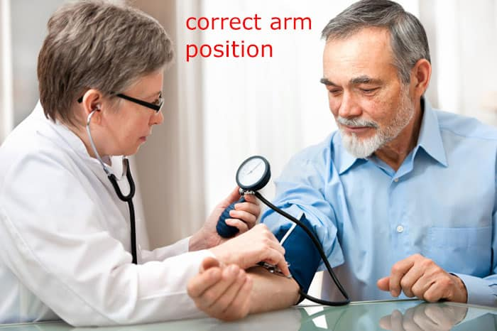 correct-arm-position-in-blood-test
