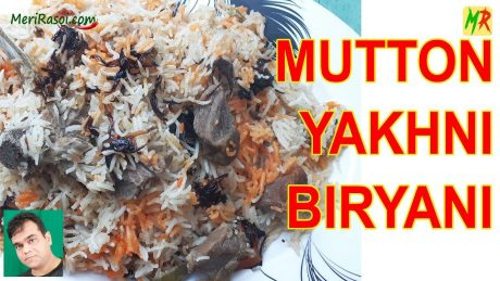 Muradabadi Yakhni Mutton Biryani Recipe| Yakhni Mutton Dum Biryani | Mutton Yakhni Pulao Recipe