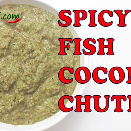 Fish Coconut (Nariyal) Chutney Recipe