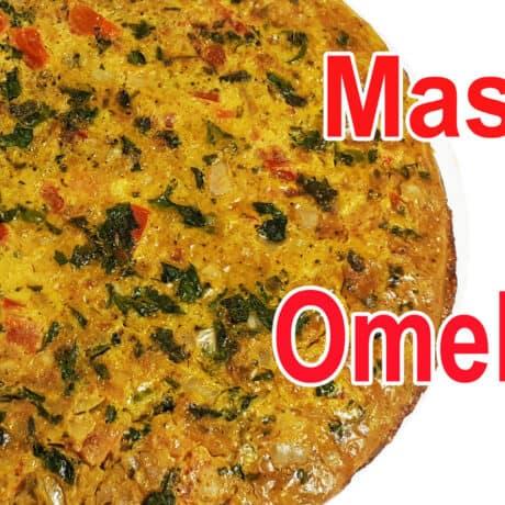 Masala Omelette Recipe | Indian Masala Omelette | Spicy Omelets Recipe | नार्मल आमलेट से हो बोर तो बनाइये मसाला आमलेट