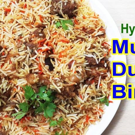 Hyderabadi Mutton Dum Biryani | Mutton Dum Biryani Recipe | Layer Biryani Recipe