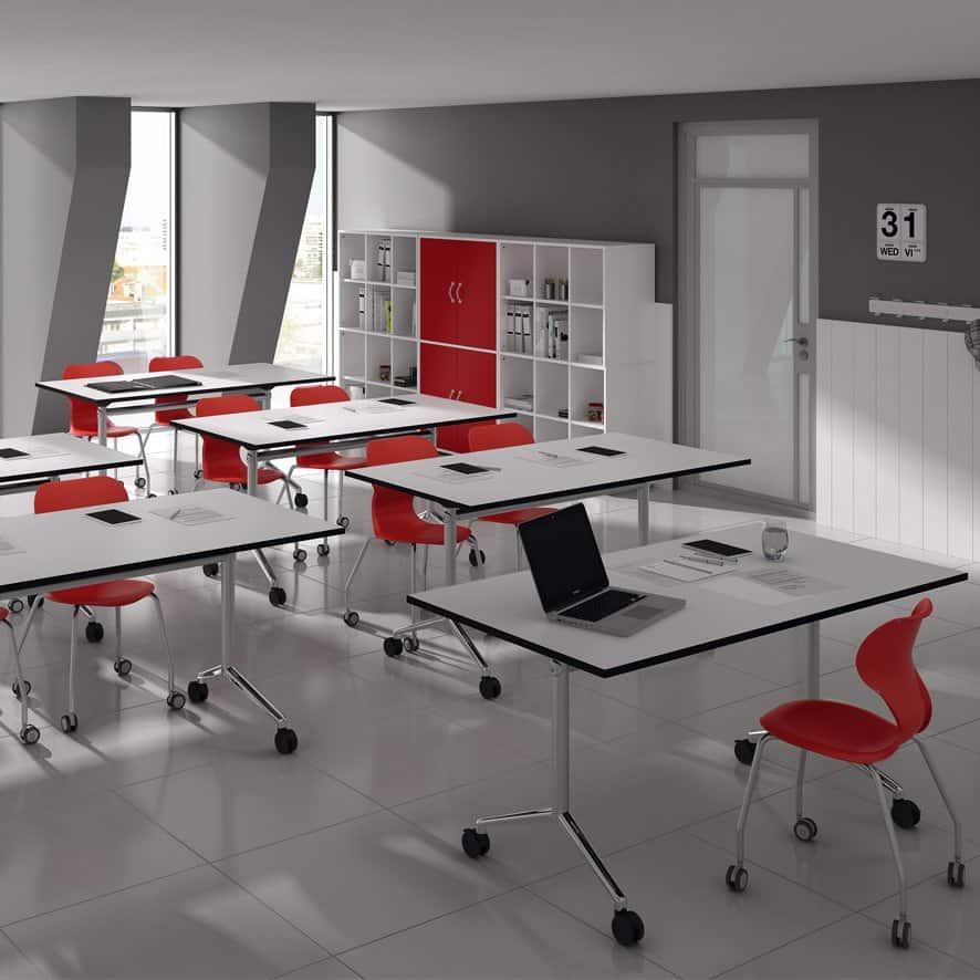 aula polivalente mobiliario escolar