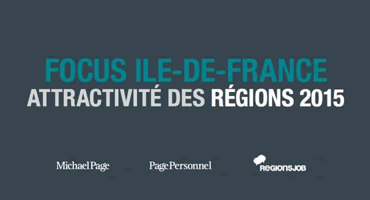 Mobilité des salariés et attractivité de l'Île-de-France