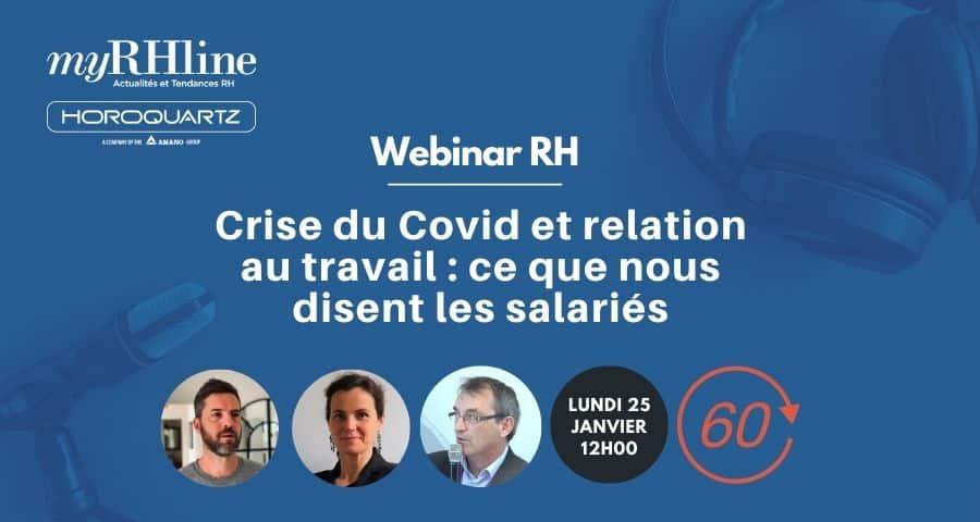 Crise du Covid et relation au travail : ce que nous disent les salariés
